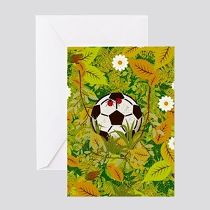 I lost my ball Greeting Cards