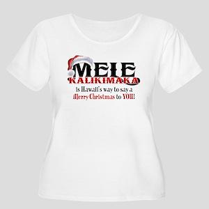 Mele Kalikimaka Plus Size T-Shirt