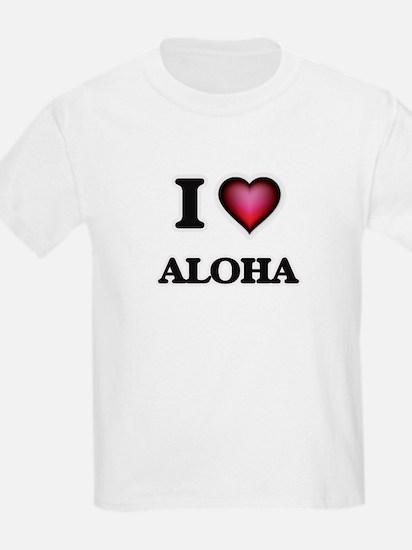 I Love Aloha T-Shirt