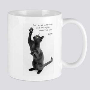 Captivated Cat-And-Quote Mug