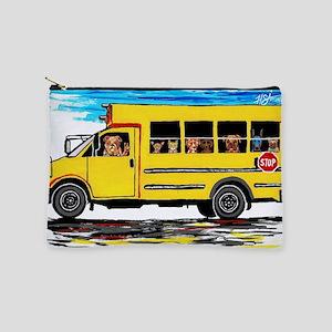 School Bus Makeup Bag