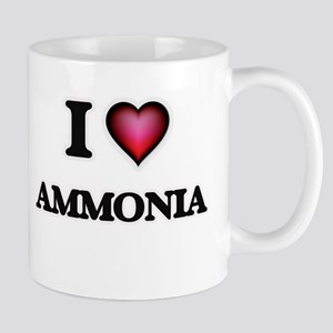 I Love Ammonia Mugs