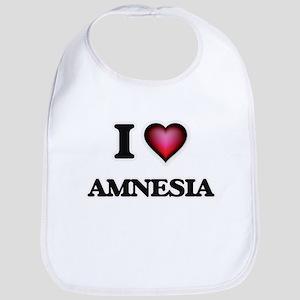 I Love Amnesia Bib