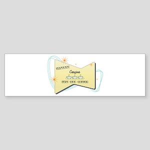 Instant Caregiver Bumper Sticker