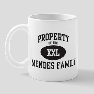 Property of Mendes Family Mug