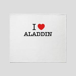 I Love ALADDIN Throw Blanket