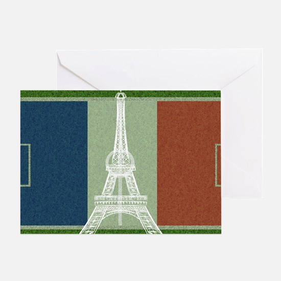 Cute France soccer Greeting Card
