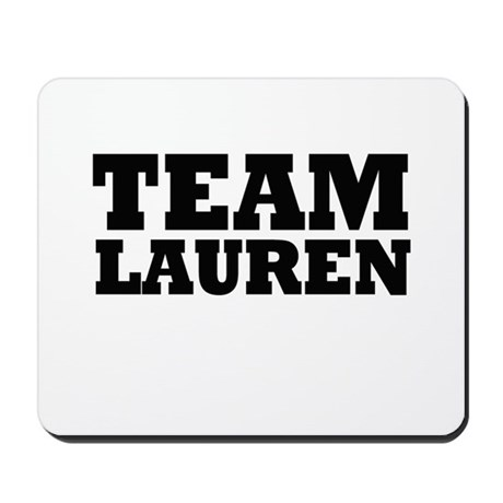 Team LC / Team Lauren Mousepad