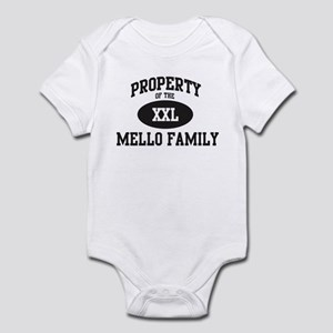 Property of Mello Family Infant Bodysuit