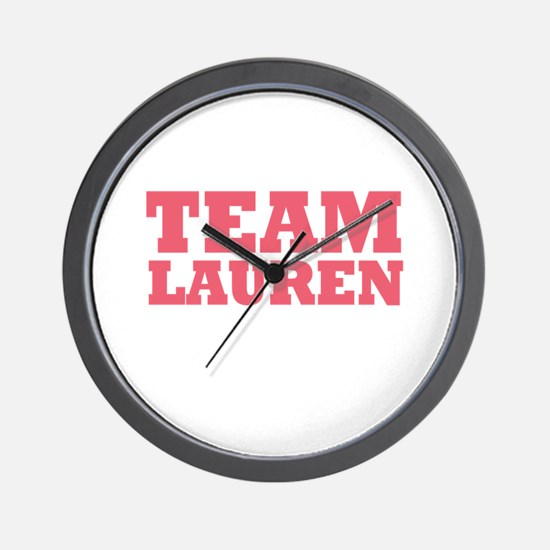 Team LC / Team Lauren Wall Clock