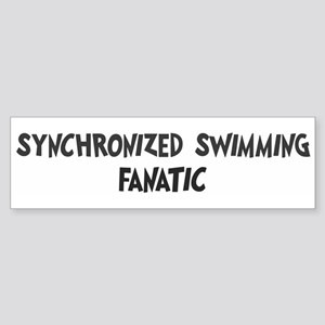 Synchronized Swimming fanatic Bumper Sticker