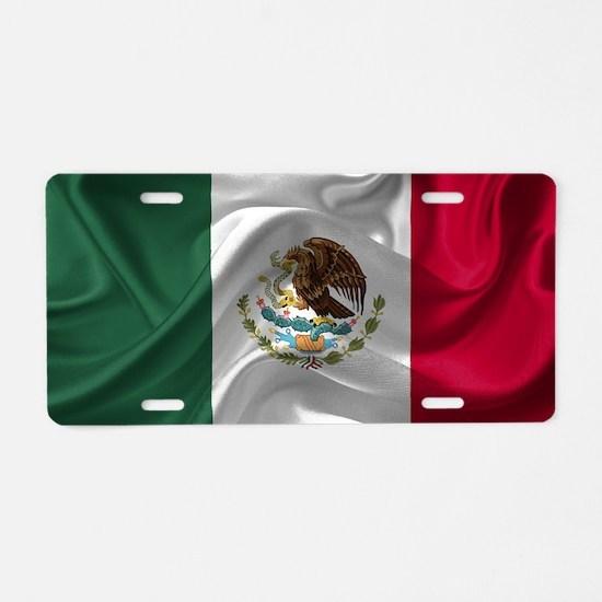 Funny International flags Aluminum License Plate