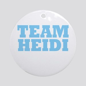 Team Heidi Ornament (Round)