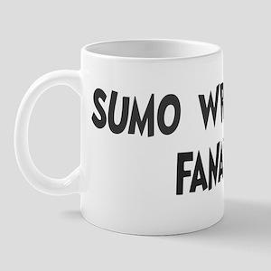 Sumo Wrestling fanatic Mug