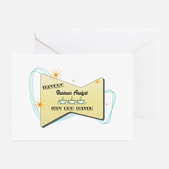 Instant Business Analyst Greeting Card