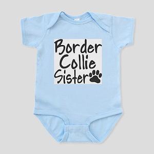 Border Collie SISTER Infant Bodysuit