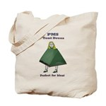 PMS Tent Dress Tote Bag