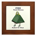 PMS Tent Dress Framed Tile