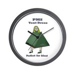 PMS Tent Dress Wall Clock