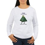 PMS Tent Dress Women's Long Sleeve T-Shirt