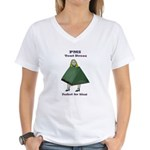 PMS Tent Dress Women's V-Neck T-Shirt