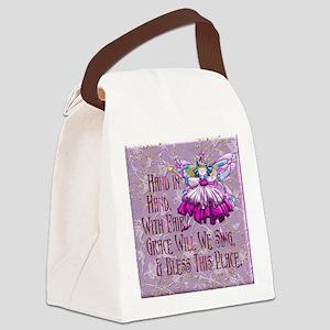 Harvest Moons Vintage Fairy Canvas Lunch Bag