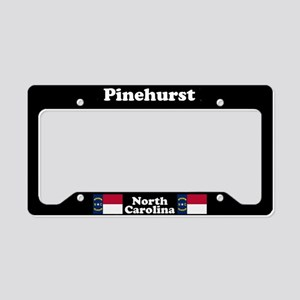 Pinehurst NC License Plate Holder
