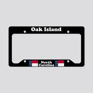 Oak Island NC License Plate Holder