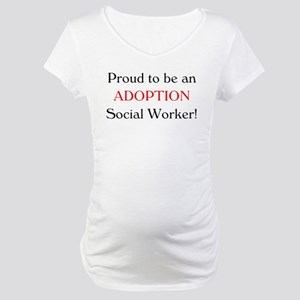 Proud Adoption SW Maternity T-Shirt