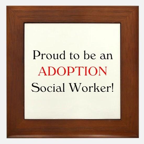 Proud Adoption SW Framed Tile