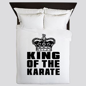 King Of The Karate Queen Duvet
