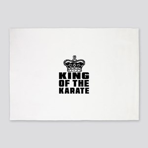 King Of The Karate 5'x7'Area Rug