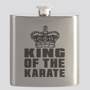 King Of The Karate Flask