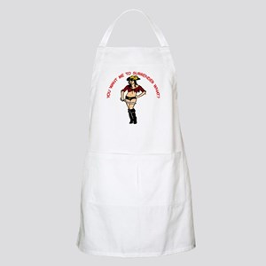 To Surrender WHAT? BBQ Apron