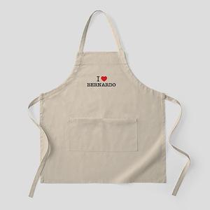 I Love BERNARDO Apron