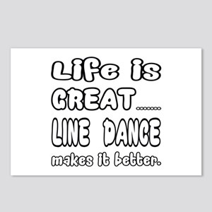 Life is great.... Line da Postcards (Package of 8)