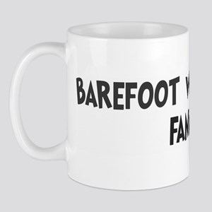 Barefoot Water Skiing fanatic Mug