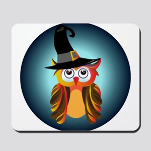 Witch Owl Mousepad
