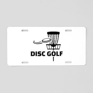 Disc golf Aluminum License Plate