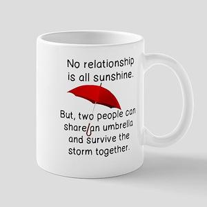NO RELATIONSHIP ALL SUNSHINE, UMBRELLA Mugs
