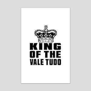 King Of The Vale Tudo Mini Poster Print