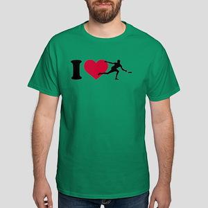 I love Disc golf Dark T-Shirt