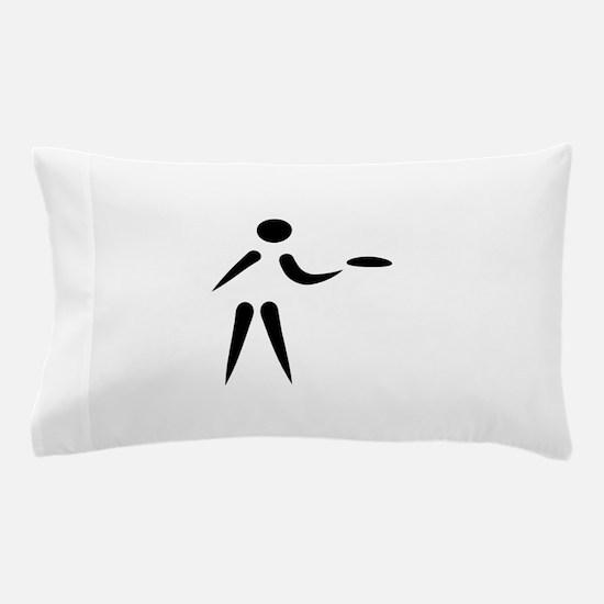 Disc golf player Pillow Case