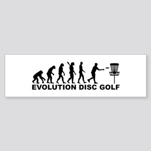 Evolution Disc golf Sticker (Bumper)