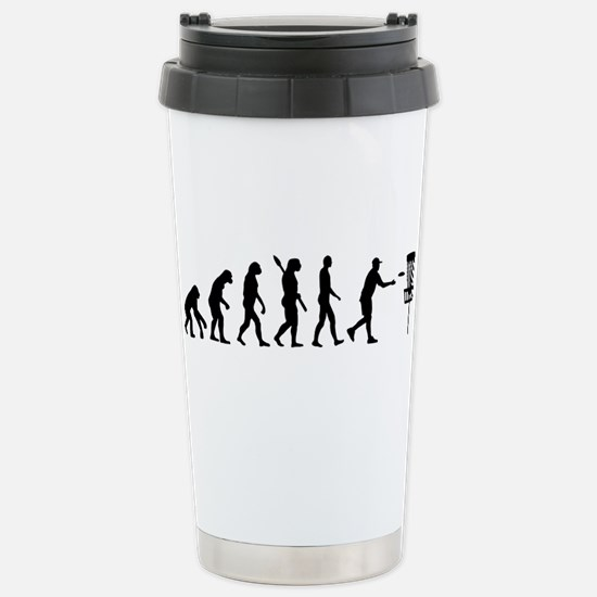 Evolution Disc golf Stainless Steel Travel Mug