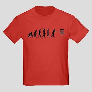 Evolution Disc golf Kids Dark T-Shirt