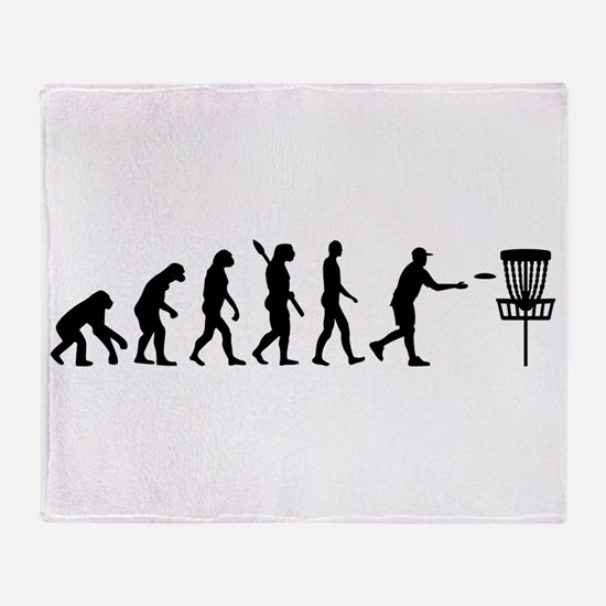 Evolution Disc golf Throw Blanket