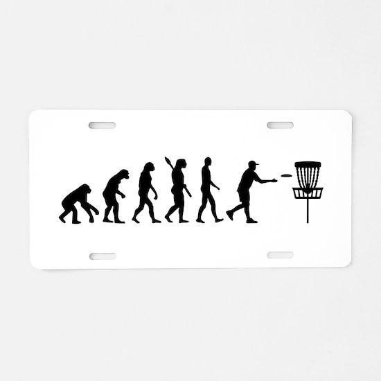 Evolution Disc golf Aluminum License Plate