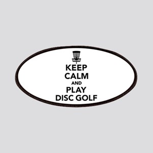 Keep calm and play Disc golf Patch