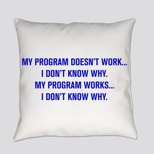 MY PROGRAM DOESN'T WORK I DON'T KNOW WHY Everyday